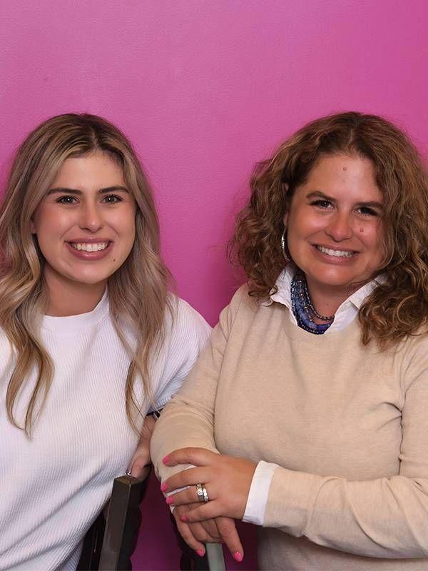 Two women entrepreneurs smiling. Next Avenue