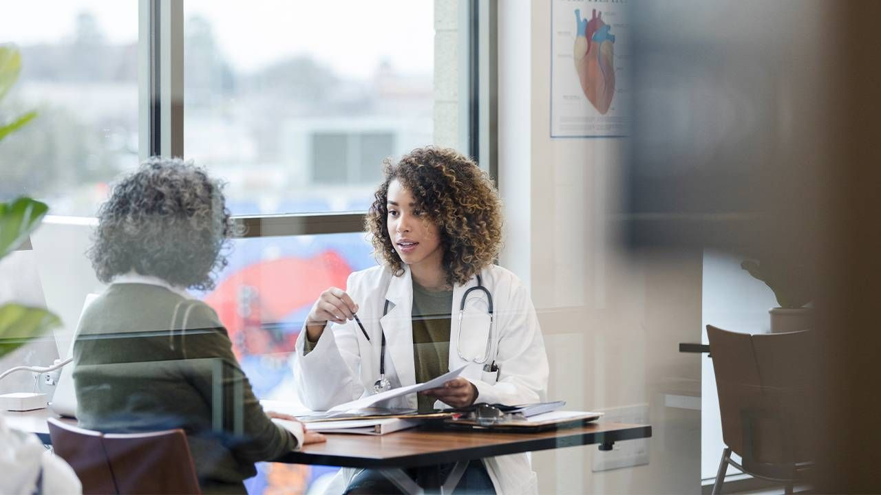 A patient talking with her doctor. Questions to ask doctor, Dr. Robert Pearl, Next Avenue