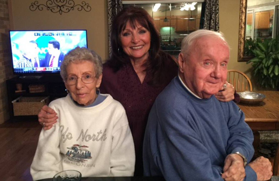 Tere Dillard and her parents in their home. Next Avenue, health care, ageist, ageism