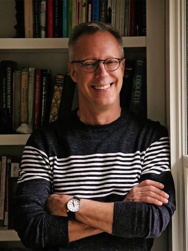 Author steven petrow smiling at home, Next Avenue
