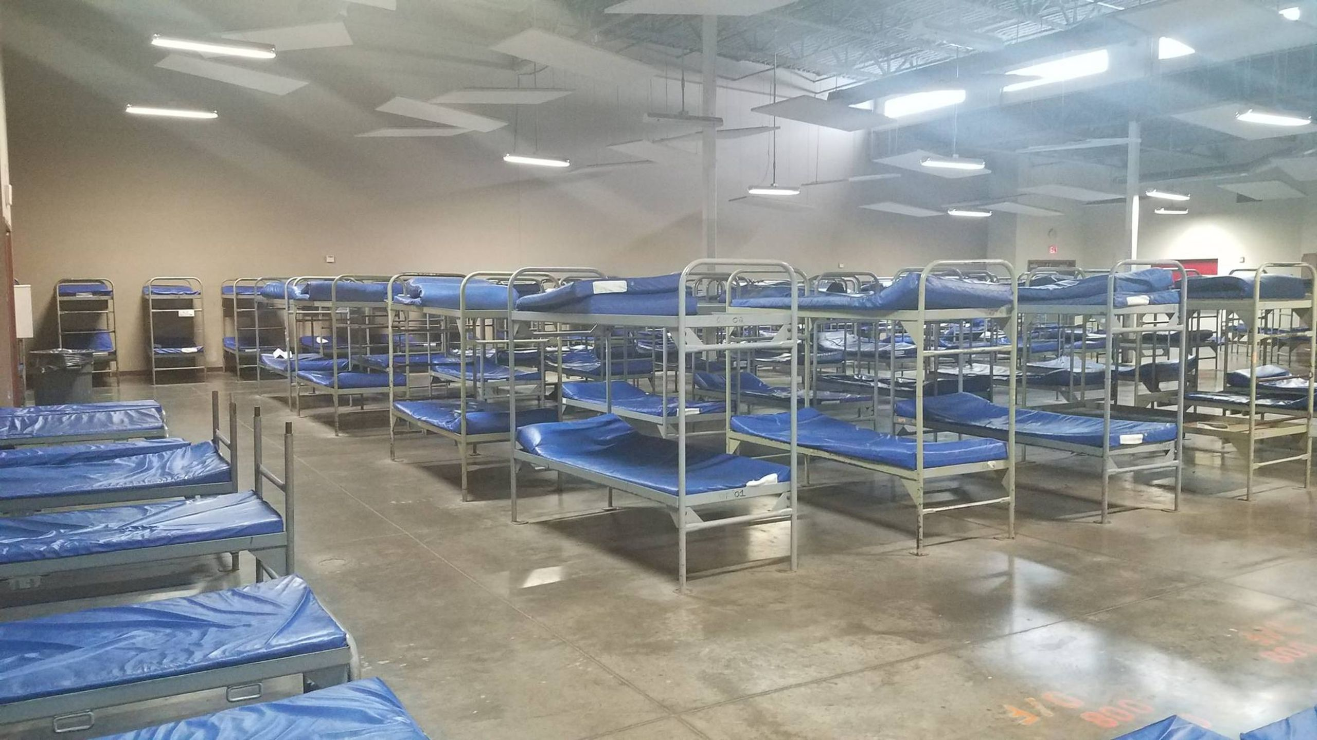 Dormitory at CASS. It can be difficult for older adults to get in and out of bunk beds, which is why Lisa Glow, CEO of CASS, is pushing for a shelter geared towards the needs of older people.