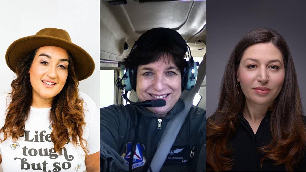 Three women's headshots side by side. Next Avenue, 9/11, september 11, women