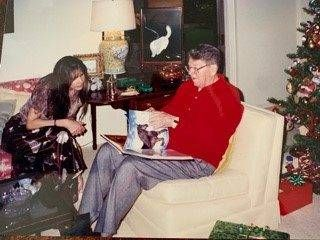 Patti Davis and her father, former President Ronald Reagan. Alzheimer's.