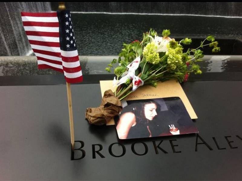 Brooke Jackman's 9/11 memorial. Next Avenue, sister, 9/11