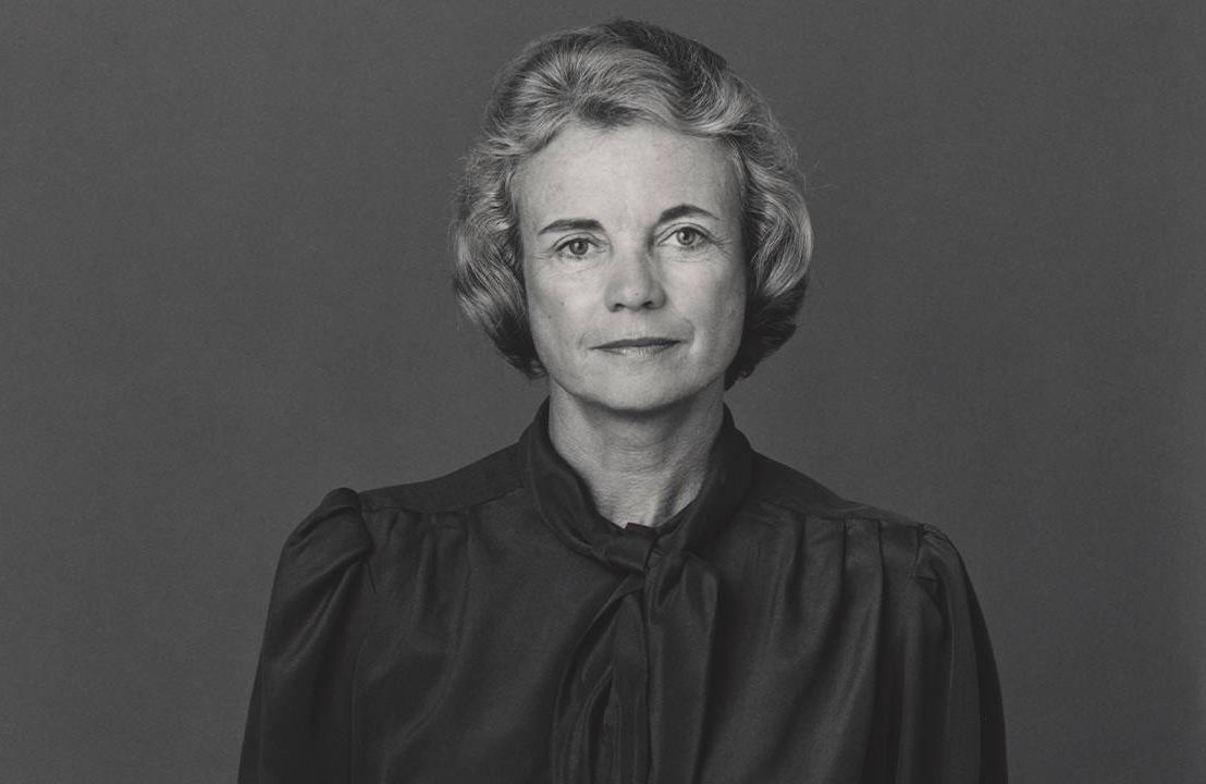 Sandra Day O'Connor wearing a black blouse. Next Avenue, Next Avenue, PBS documentary