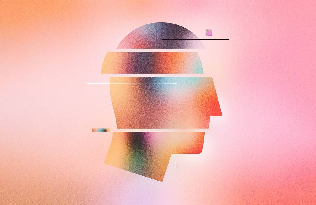A colorful silhouette of a person's head. Next Avenue, Everyday Vitality, change, stress