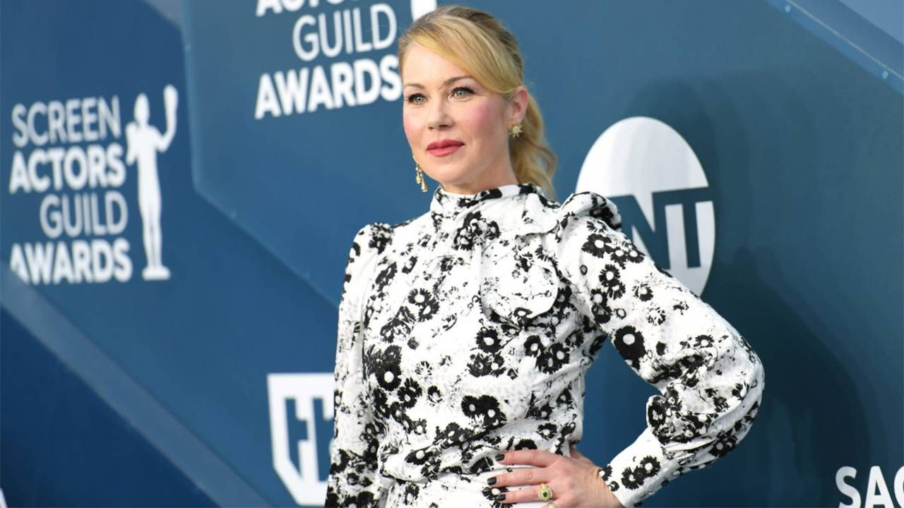 Christina Applegate on the red carpet at the SAG Awards. Next Avenue, MS, multiple sclerosis