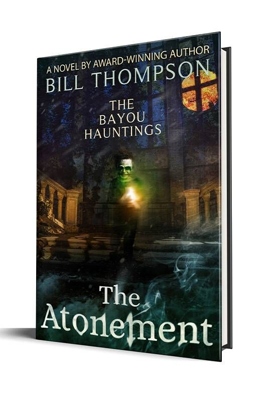 """Book cover of """"The Atonement"""" by Bill Thompson. Next Avenue, second career, writer"""