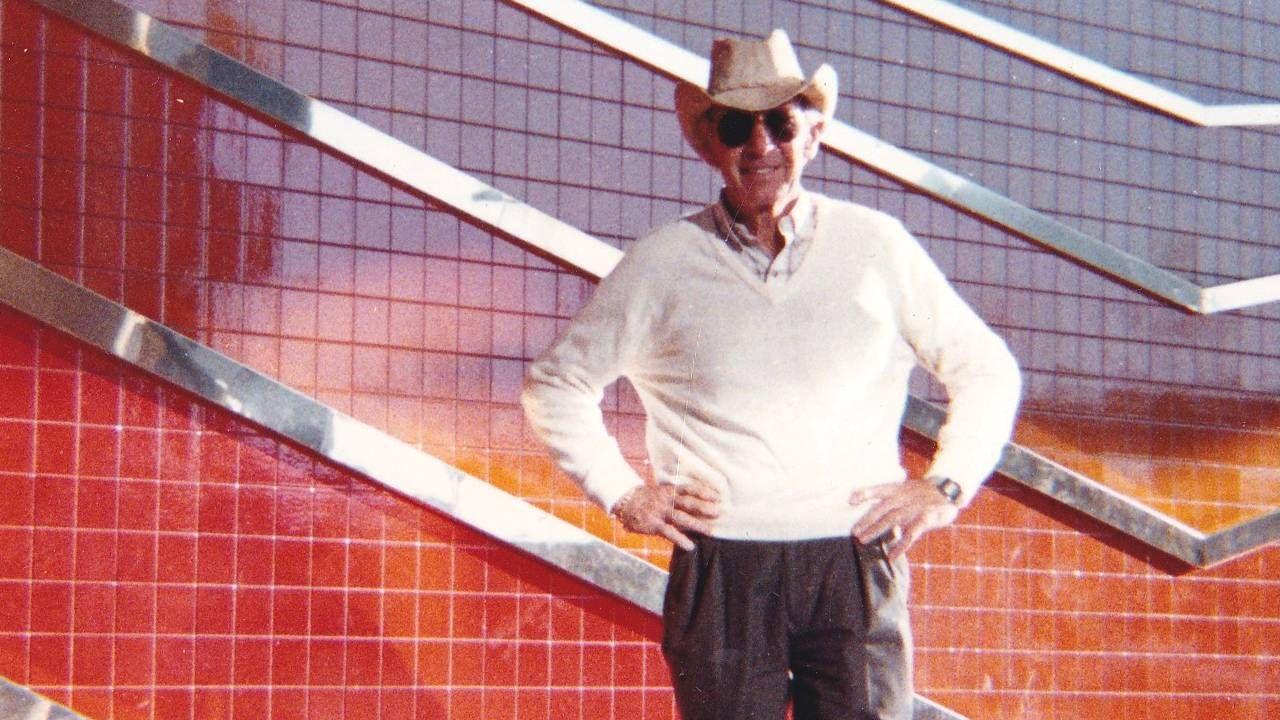 A man wearing a cowboy hat. Next Avenue, Father, daughter, Alzheimer's