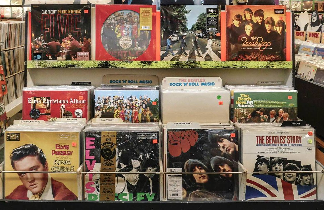 Vinyl records from The Beach Boys, The Beatles and Elvis. Next Avenue, vinyl records value, sell records