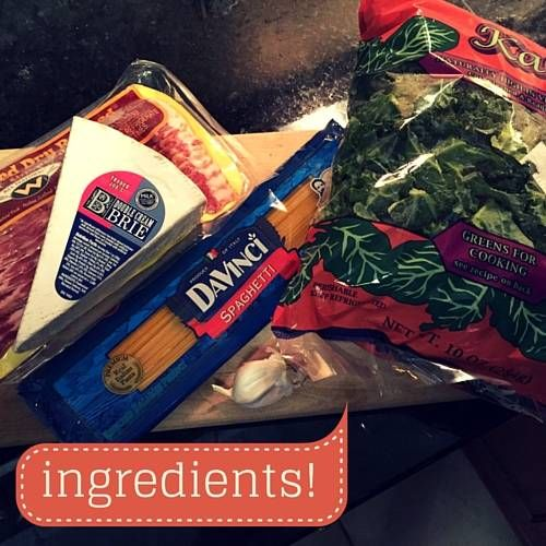 pasta ingredients!