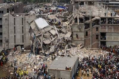 Factory collapse in Savar, Bangladesh Rewire PBS Our Future Fast Fashion