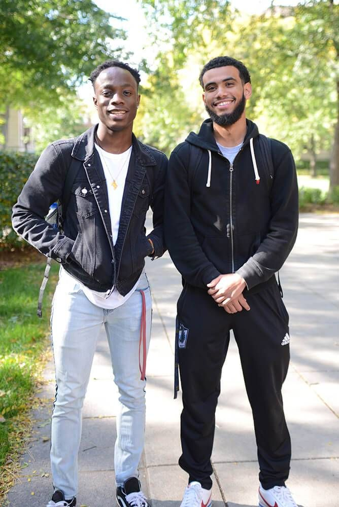 Alban Cooke and Abdalla Mohamed are college students at the University of Minnesota. Our Future Rewire PBS young voters Issues