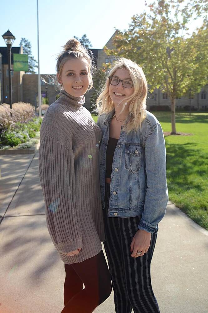 Sophia Smith and Isabelle Kinney, both 19, are college students at the University of St. Thomas. Rewire PBS our future voters Issues