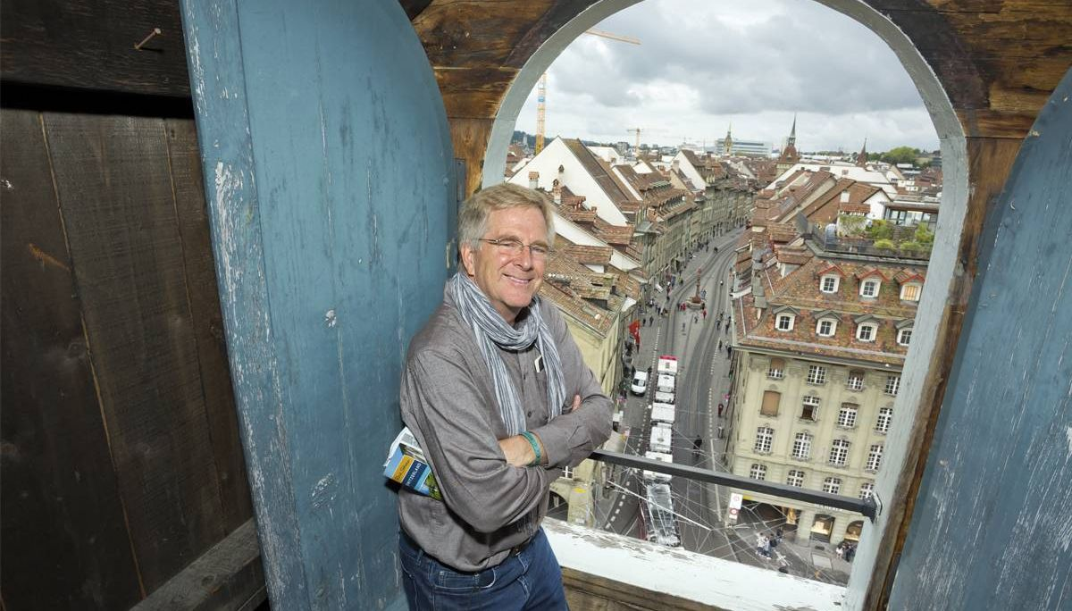 Rick in Bern, Switzerland. Rewire PBS Rick Steves