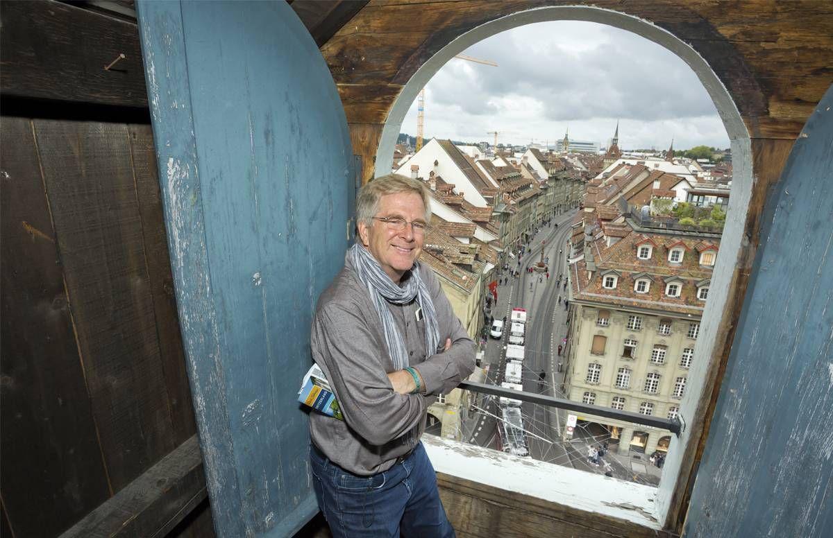 Rick in Bern, Switzerland. Rewire PBS Rick Steves