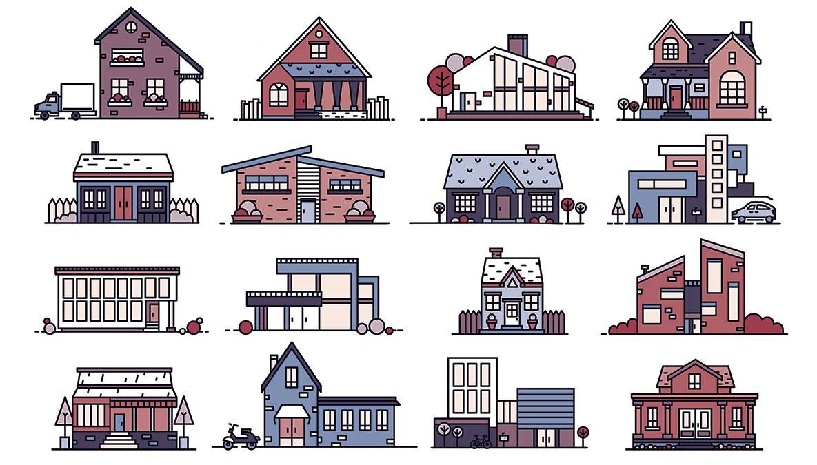houses in a neighborhood. REWIRE PBS Our Future neighborhood character structural racism