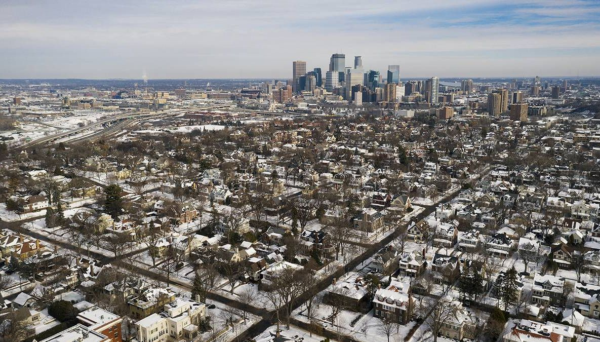 a photo of the city of minneapolis which has experienced gentrification. REWIRE PBS Our future gentrifier