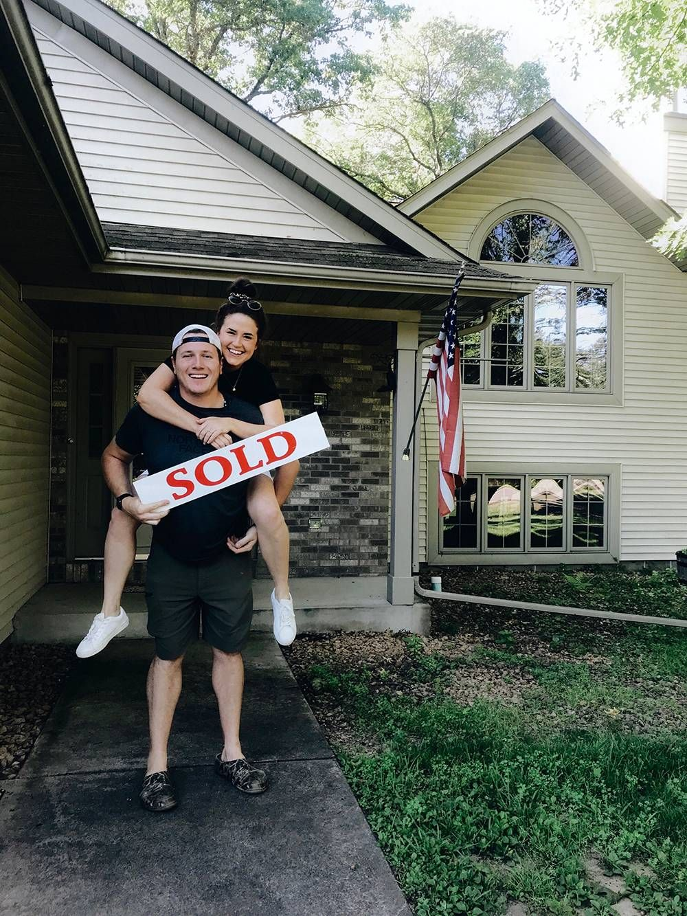 Mackenzie Kush and her fiance, Dillon Jones, bought a home in rural Minnesota. REWIRE PBS Living rural