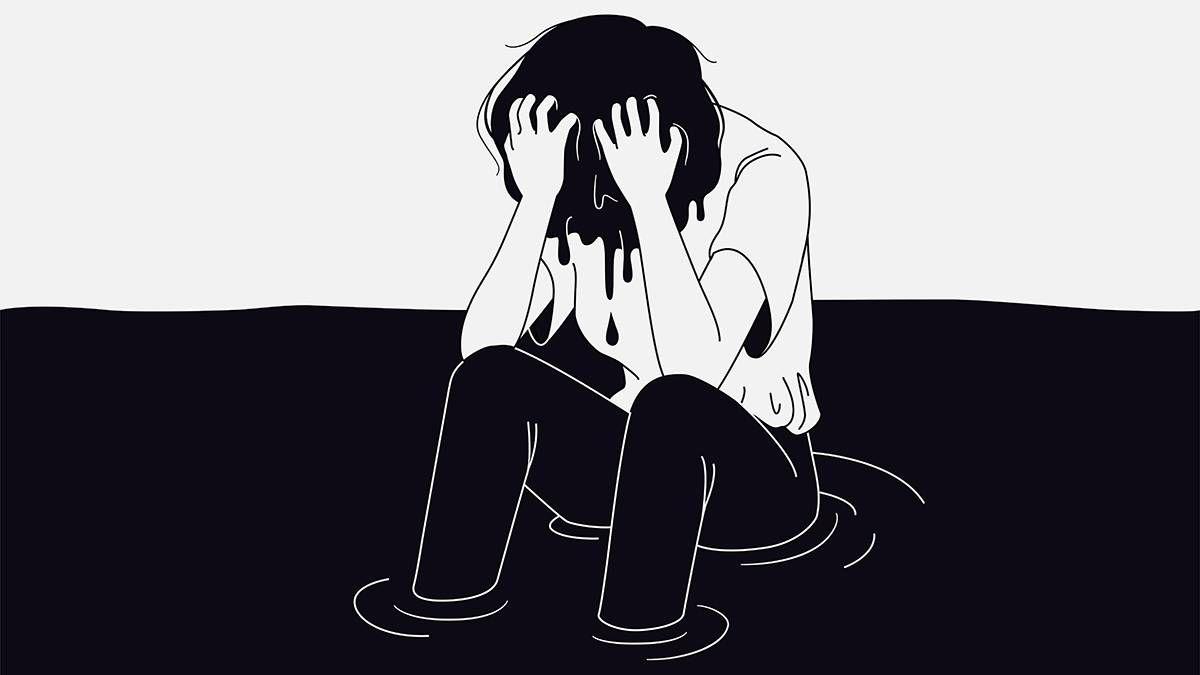 a man with depression feeling suicidal. REWIRE PBS Health feeling suicidal
