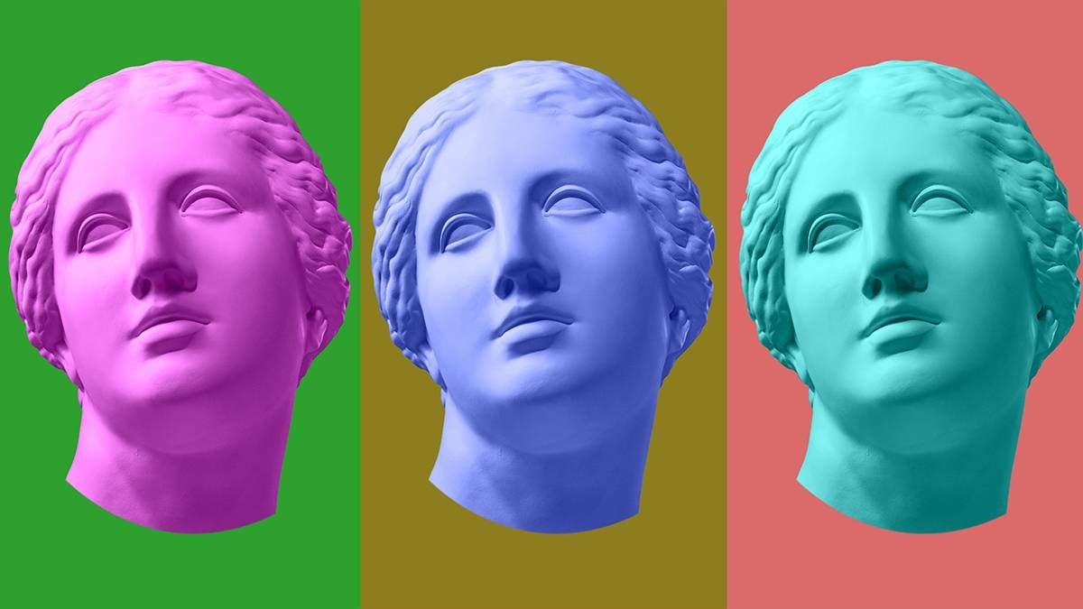 colorful images of Venus. REWIRE PBS living pandemic fashion