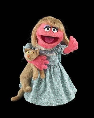 Prairie Dawn puppet