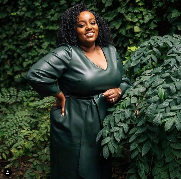 fashion blogger tinsaye has embraced more bold styles during the pandemic. REWIRE PBS living pandemic fashion
