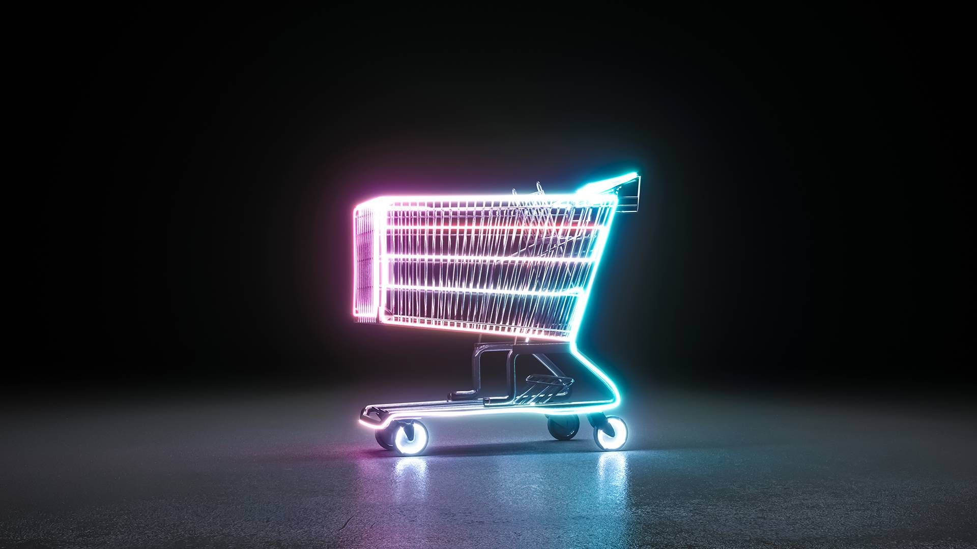 shopping cart representing consumer. rewire pbs money rights as consumer