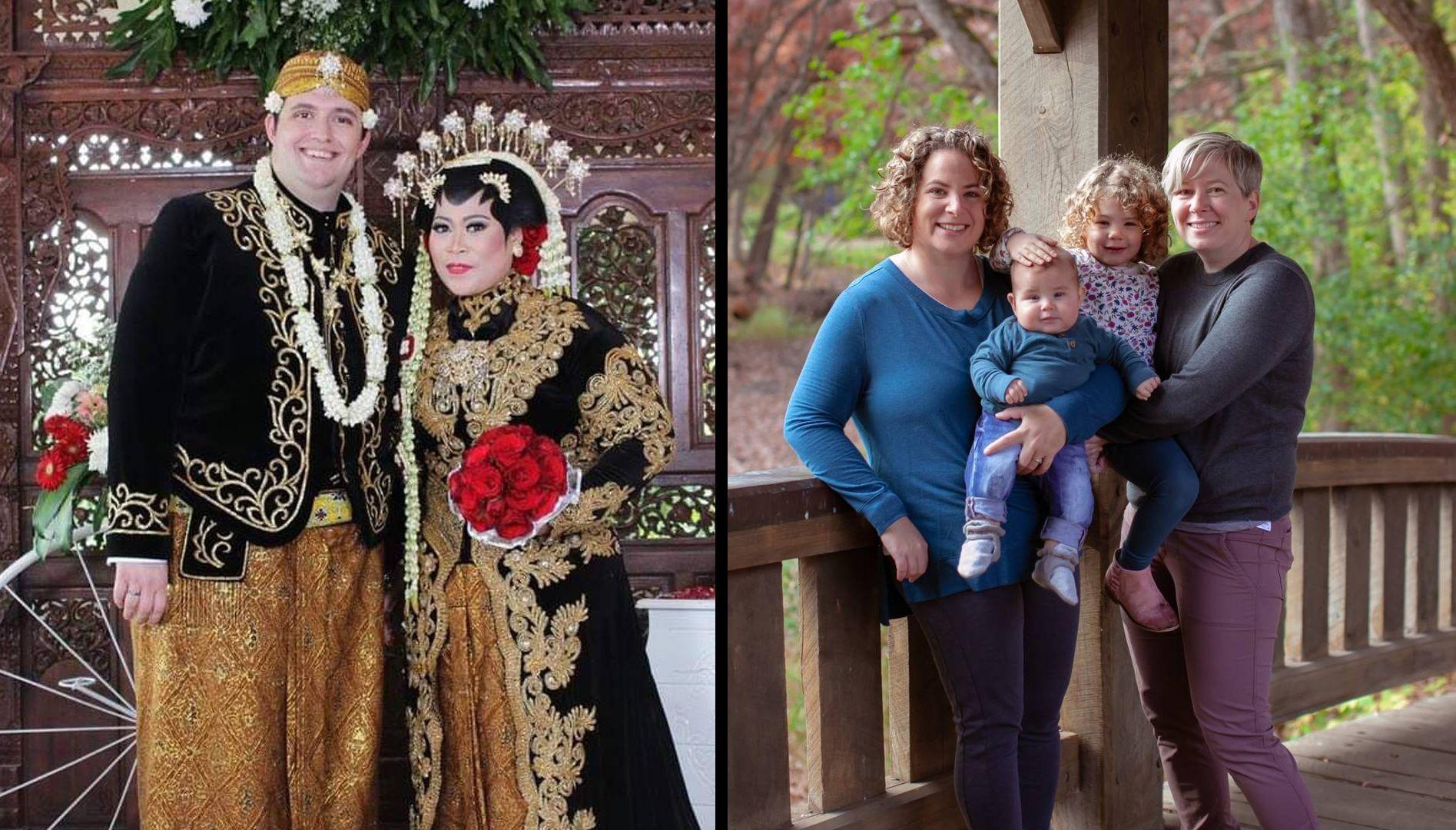 two interreligious couples. rewire pbs love interreligious couples rewire pbs love