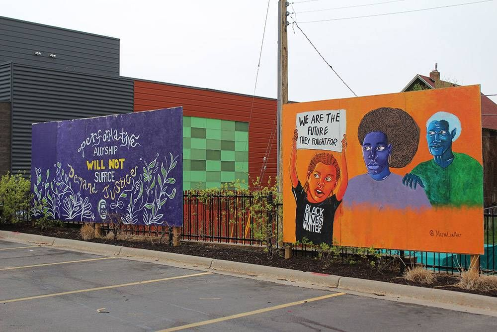community murals. rewire pbs our future art