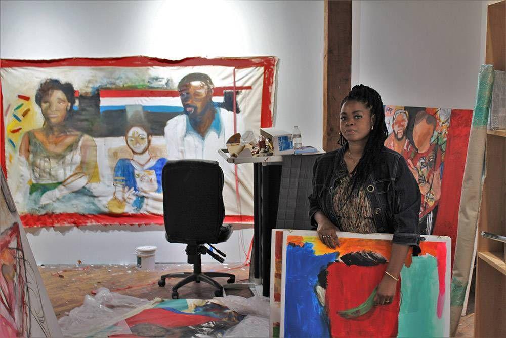 Lissa Karpeh. Rewire pbs our future murals art