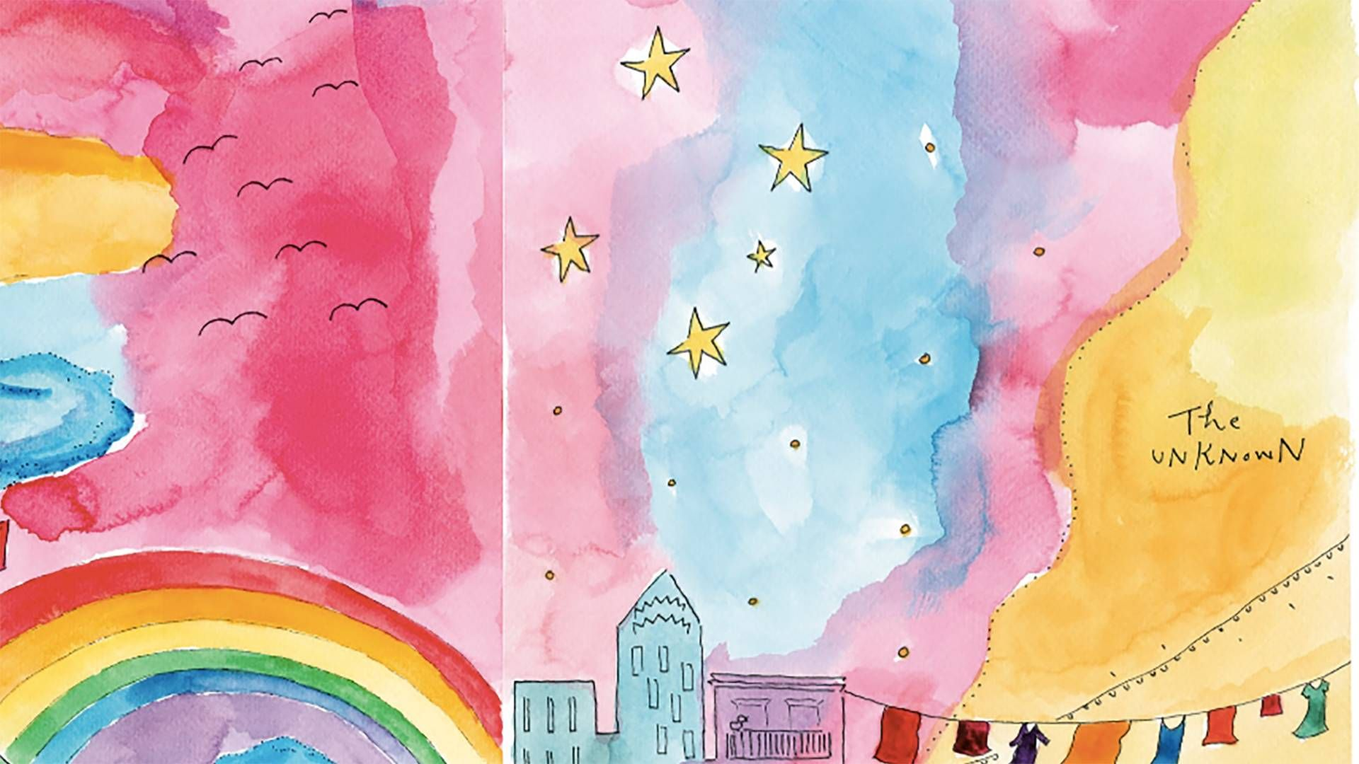artwork from My Inner Sky by Mari Andrew.