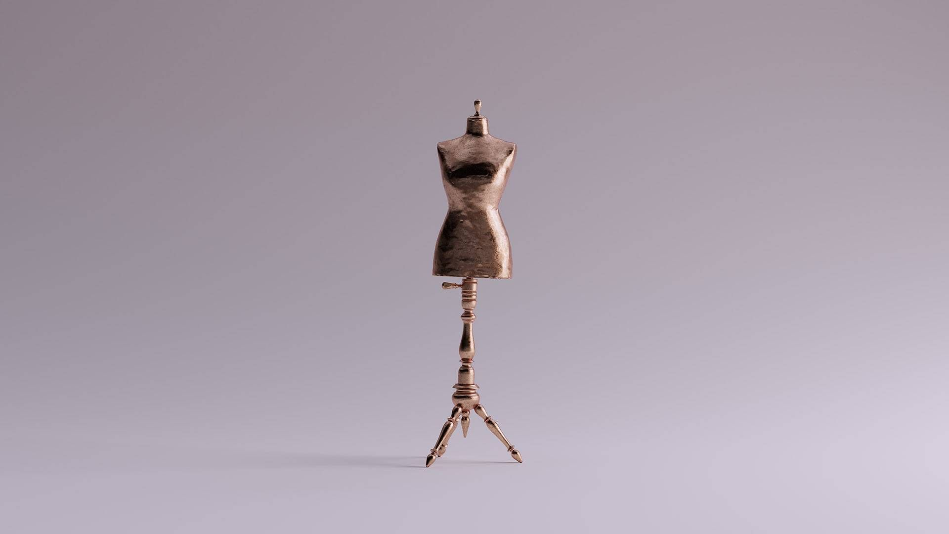a dressform. REWIRE PBS our future diy ethical sustainable, fashion
