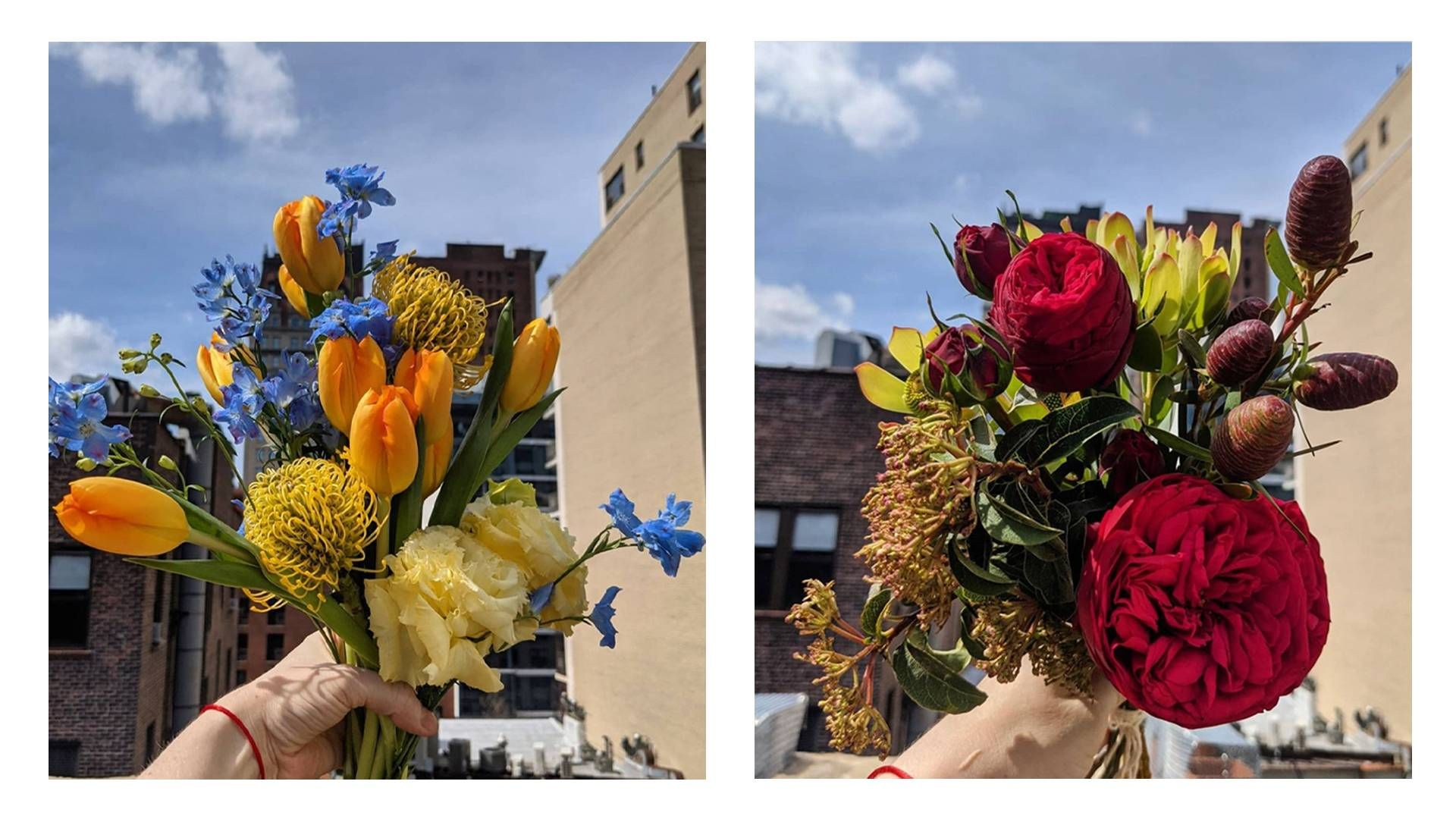 images of flower arrangements by Jill Hilbrenner. Rewire PBS living arranging flowers