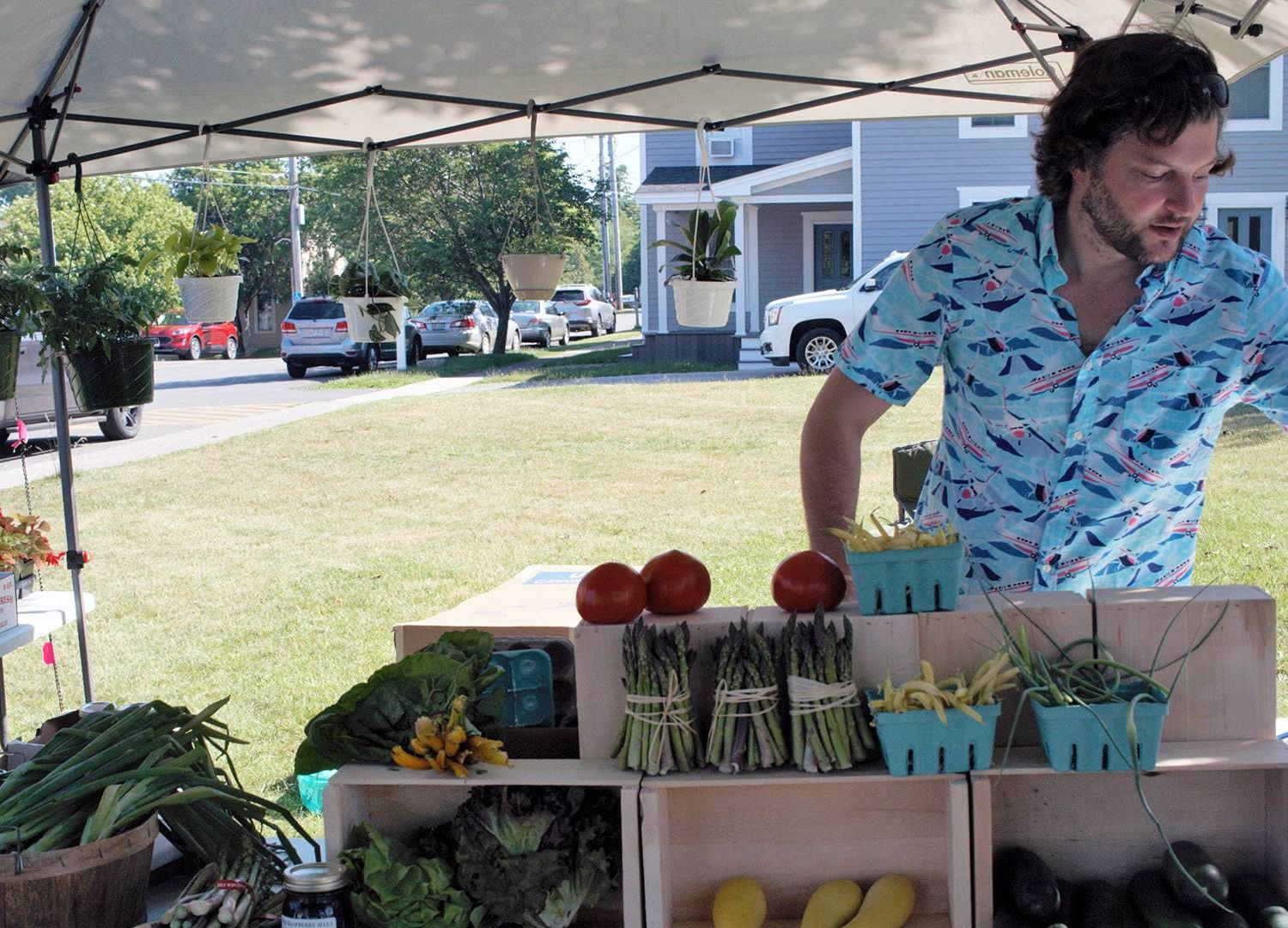 the Sackets Harbor Farmstand. Rewire PBS our future food desert