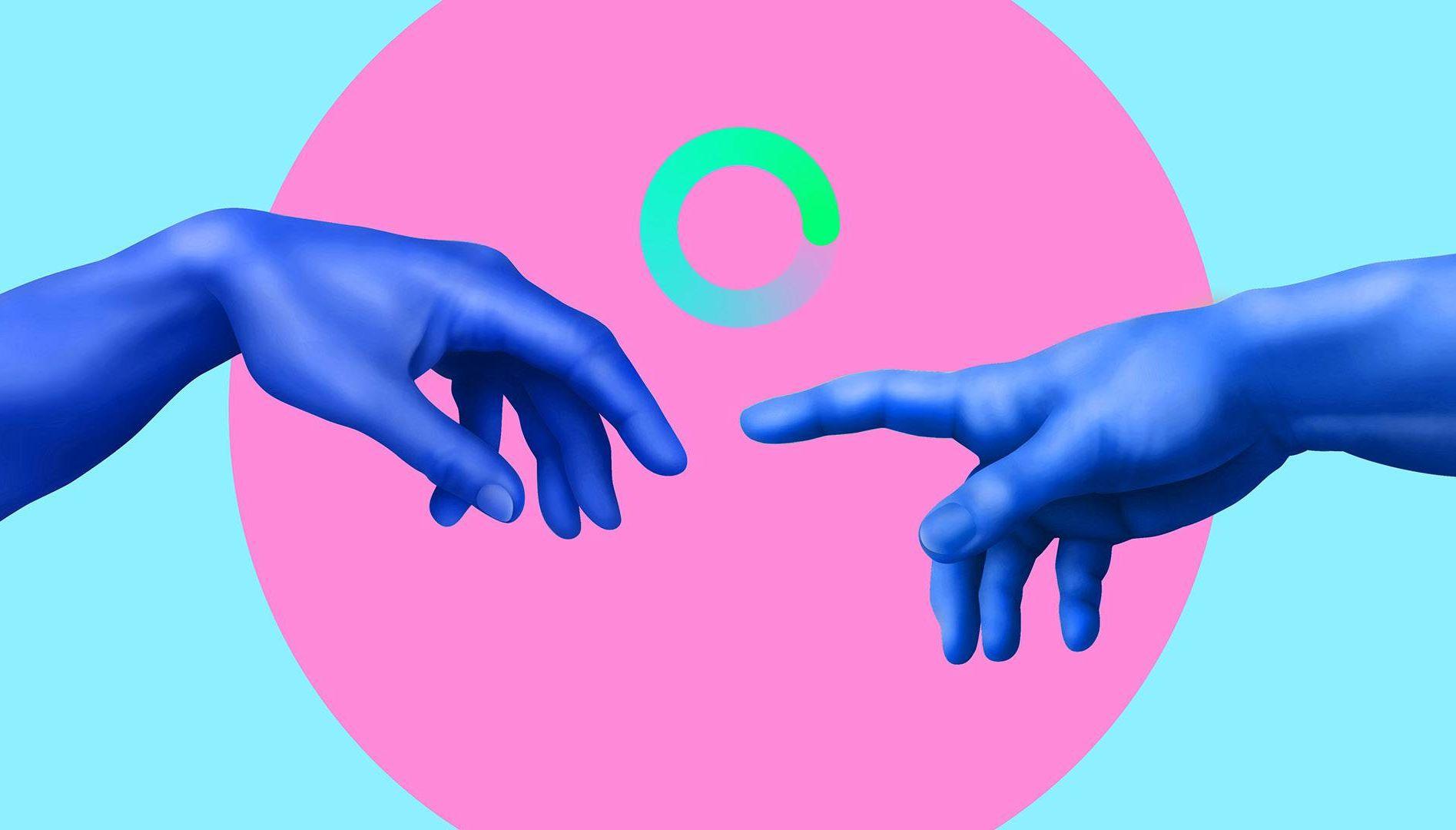 creation of Adam. rewire pbs love health touch, pandemic